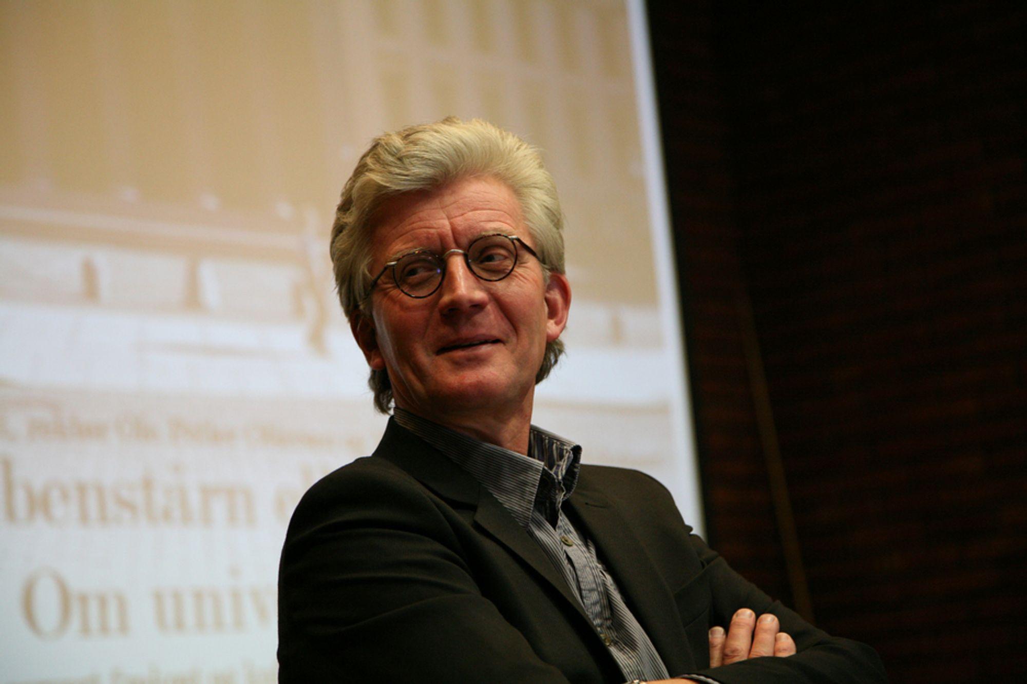 BOK: Knut Kjelstadli er dundrende uenig med dagens utdanningspolitikk.
