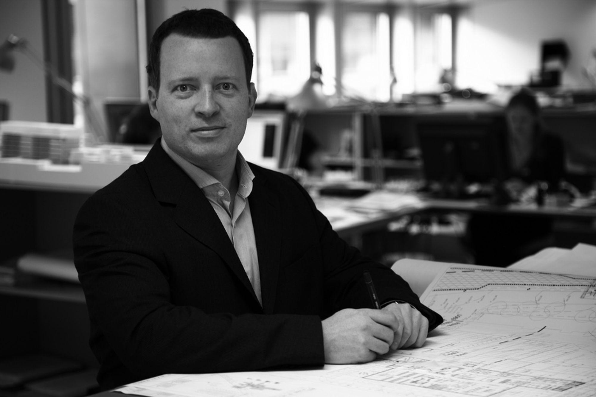 NY LEDER: Steen Sunesen går fra arkitektfirmaet CF Møller til buildingSMART.