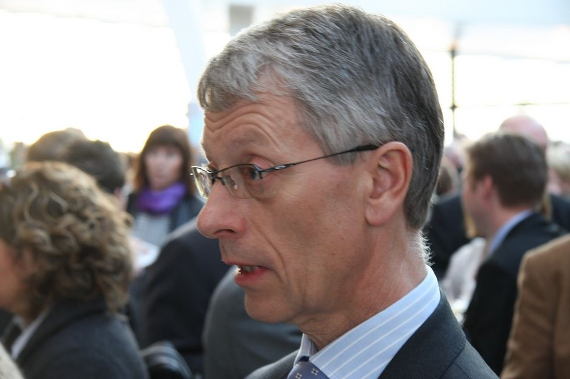 Olav Volldal, konsernsjef i Kongsberg Automotive (KA).
