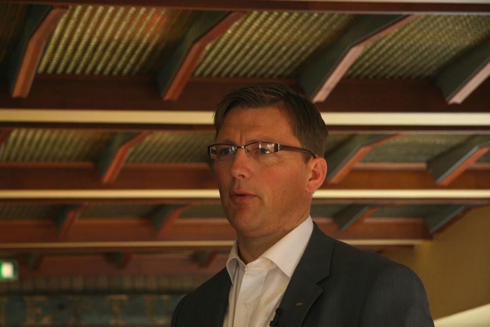 NYTT HJEMMEMARKED: Pål Egil Rønn sier Sverige skal bli et hjemmemarked, men han vil ikke konkretisere satsingen i Sverige.