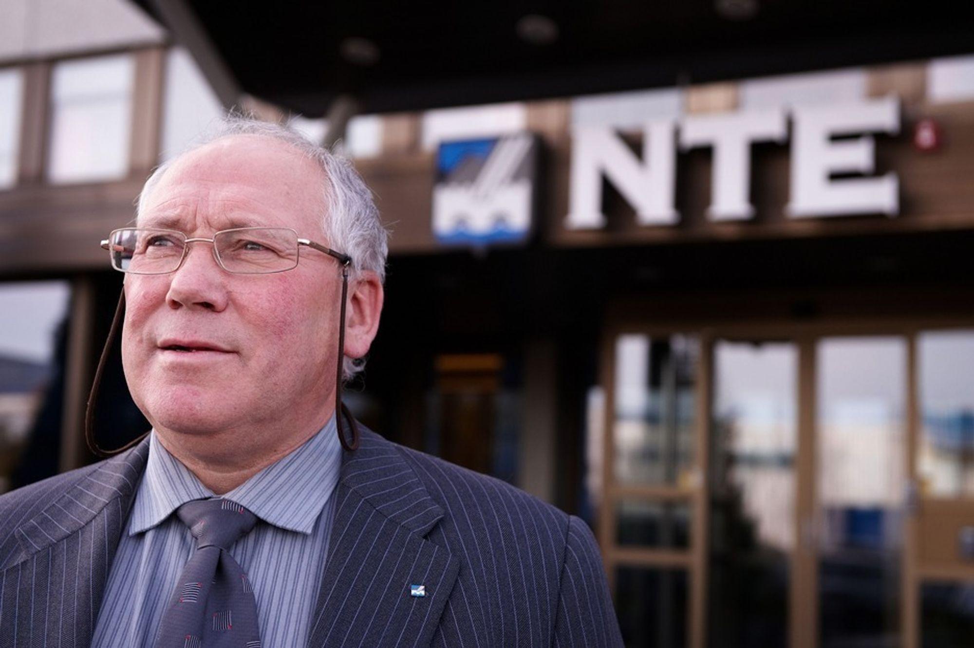 ETTERLYSER HANDLING: ¿ Politikerne snakker om lik nettleie og lik strømpris, men det har ikke skjedd noe med substans, sier konsernsjefen i NTE, Torbjørn R. Skjerve.
