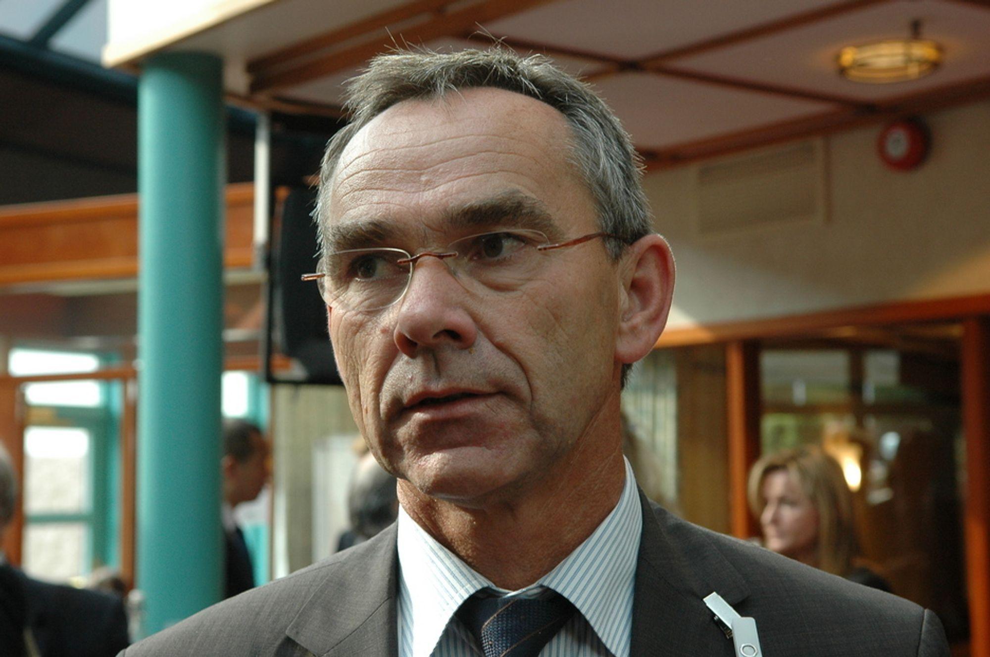 FÅTT PENGER: Programleder i Demo 2000, Morten Wiencke, kan glede seg over ekstra midler til nye prosjekter. Utfordingen er å finne realiserbare prosjekter innenfor stramme tidsrammer.