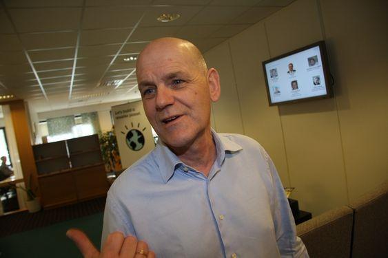 Jon Stærkebye, global divisjonsdirektør  for IBMs olje- og gassvirksomhet.