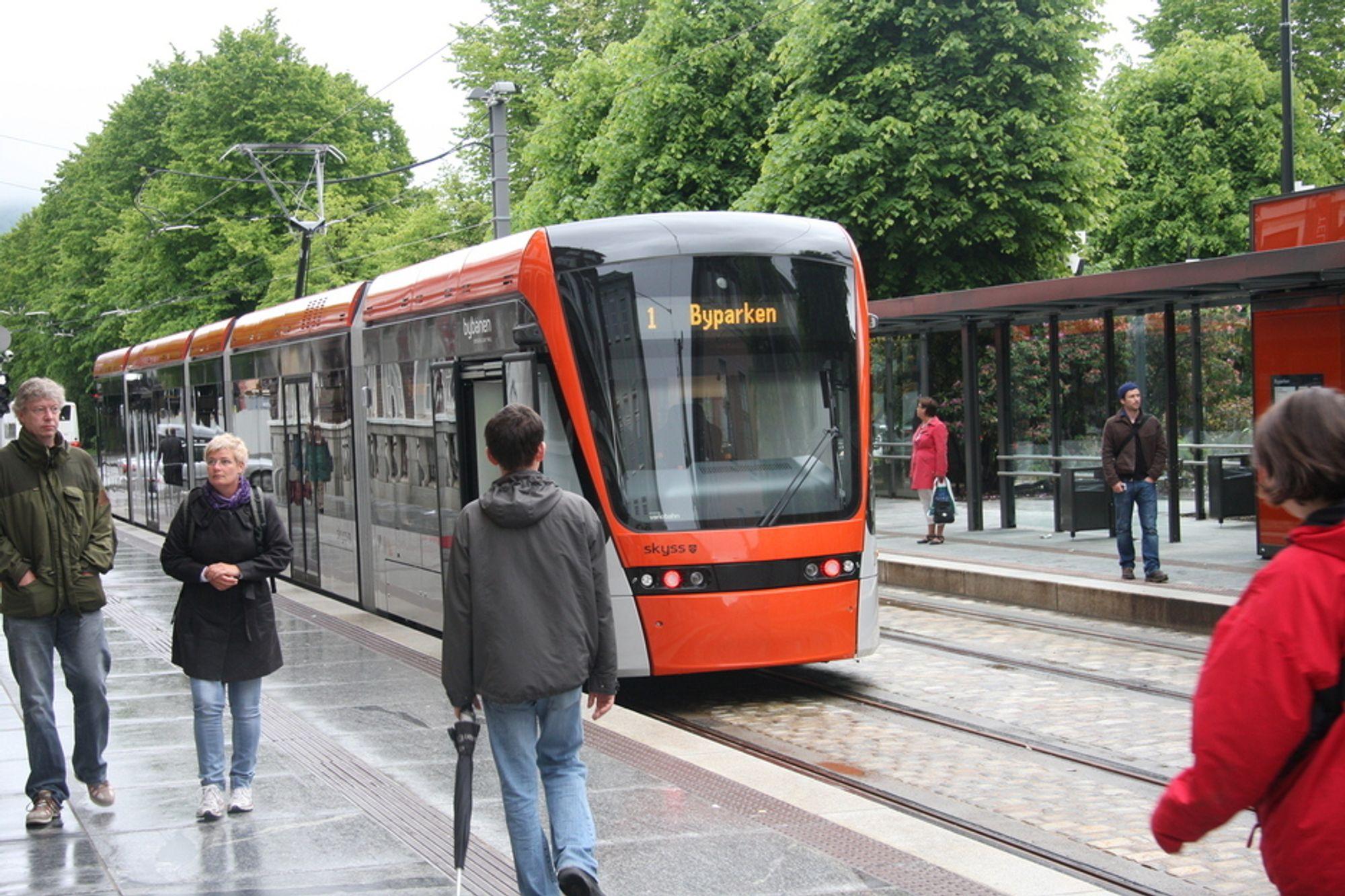 VIKTIG: En bybane på skinner er ikke nok. Transportbehovet vil bli enda større i Bergen de kommende årene, viser prognoser.
