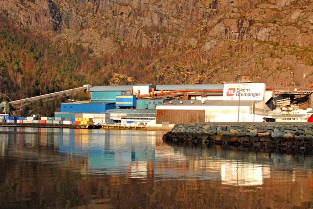 VIKTIG KUNDE: Elkem AS blir en av Statkrafts største industrikraftkunder, med et årlig volum på cirka 1,5 TWh frem til 2020.