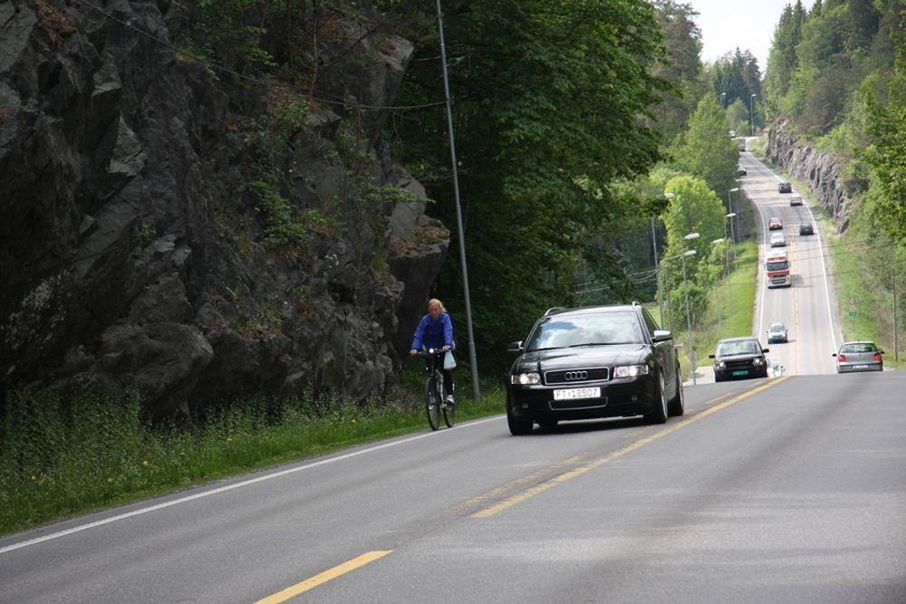 Her nekter Kleppa å sykle