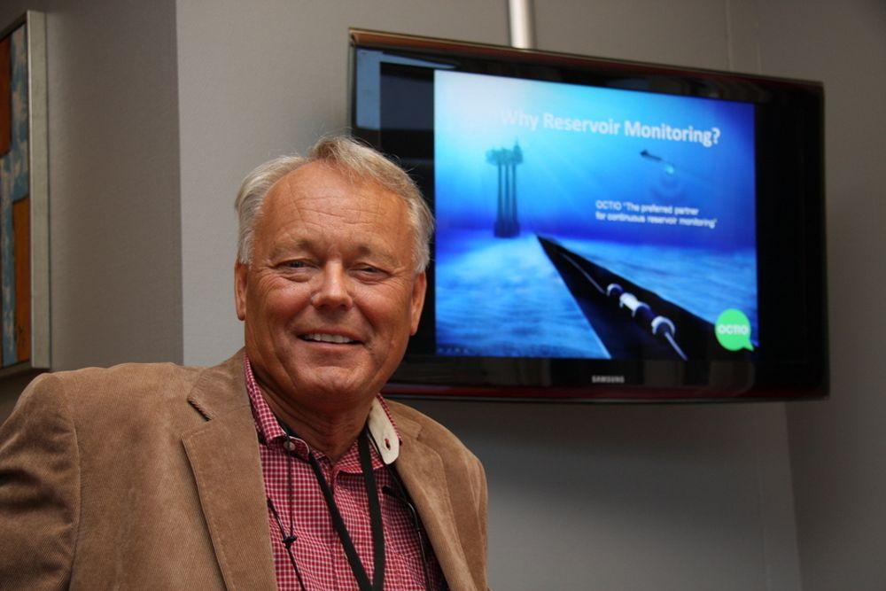 OPTIMIST: Helge Brandsæter i Octio Exploration har tro på at selskapets 4D-seismikk vil hjelpe oljeselskapene til å få mer ut av reservoarene.
