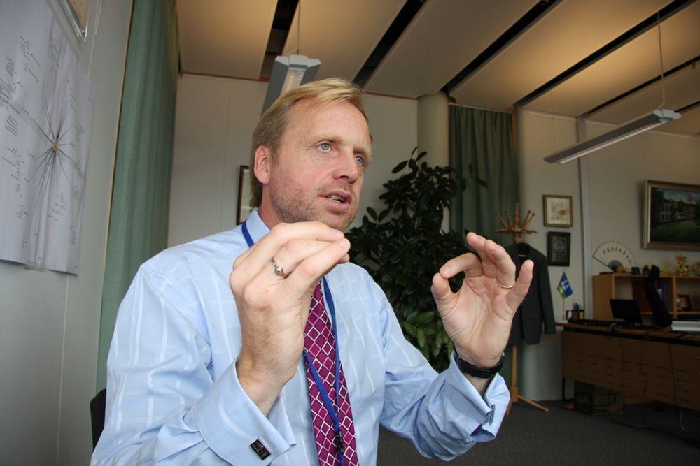 HARMONI: En bærekraftig utvikling krever at natur og menesker er i balanse, ifølge kinesisk tenkemåte, sier Bjørn Kj. Haugland i DNV.