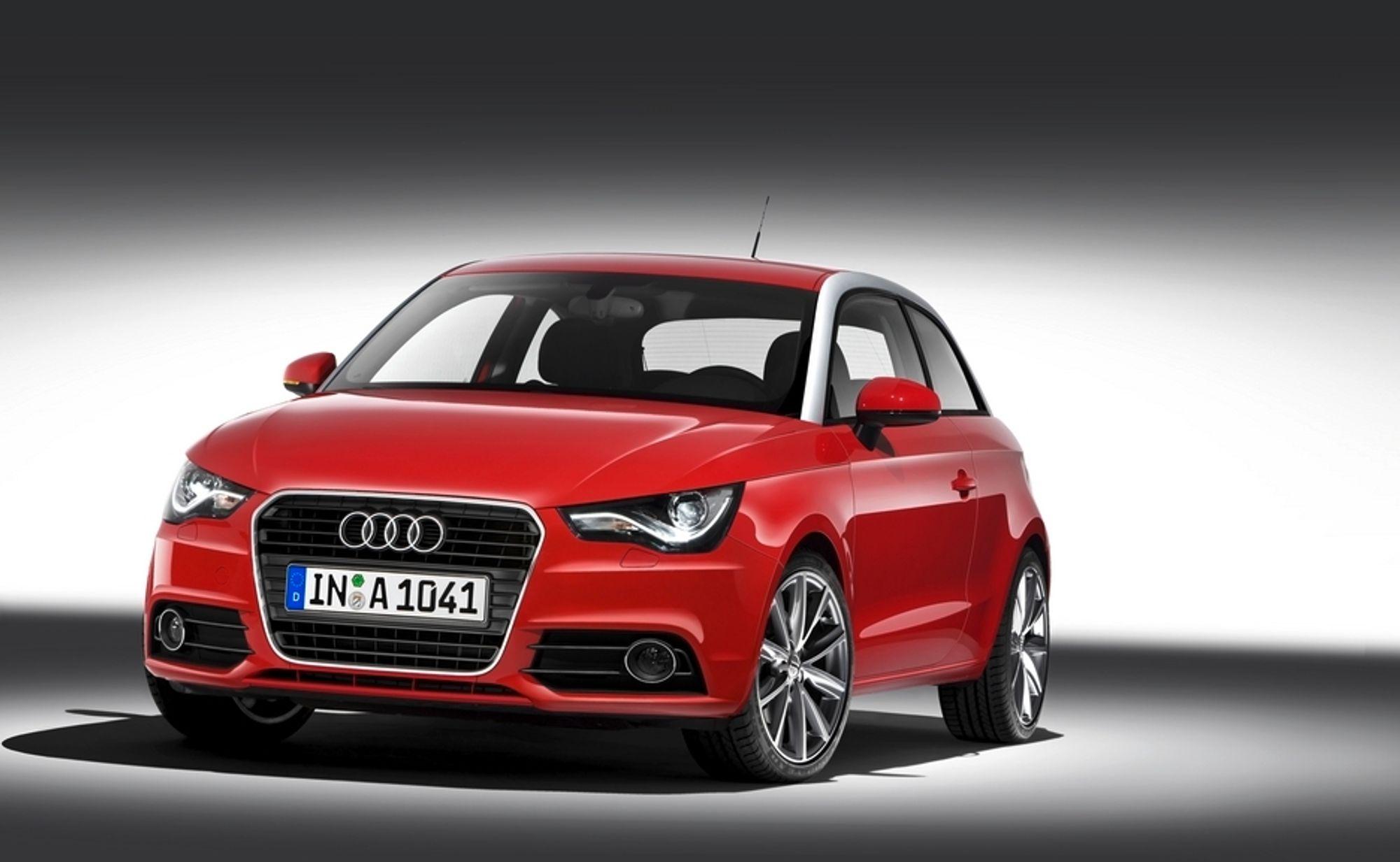 SPORTSLIG: Audi A1 blir et sportslig tilskudd i det minste bilsegmentet.