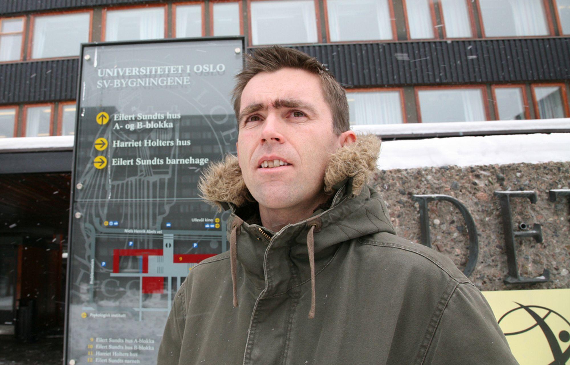 DOKTORGRAD: Ståle Østhus understreker at han er stolt av de norske velferdsordningene som mange mener er for generøse.