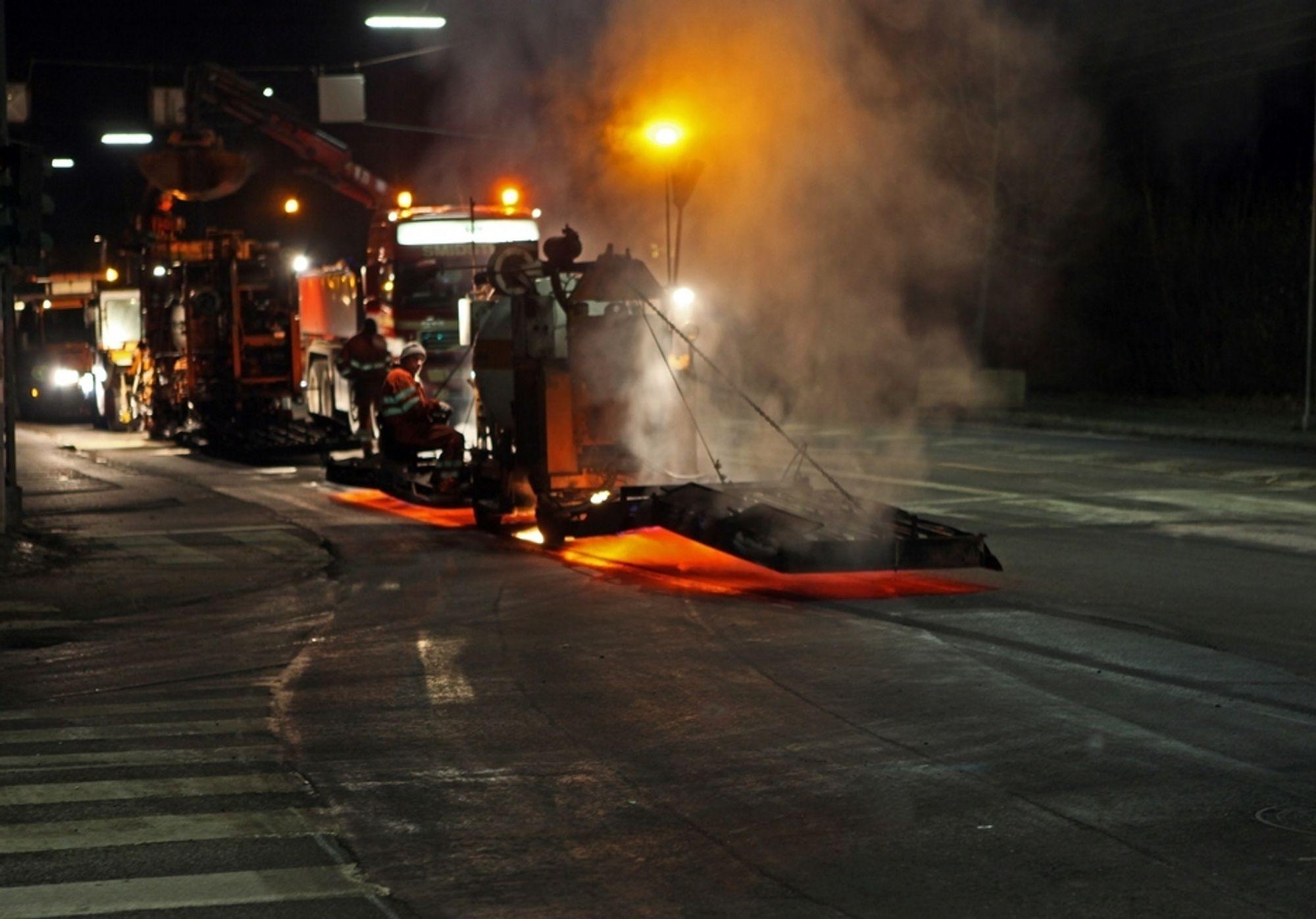 STØY: Det er støy i asfaltbransjen med påstander om ulovligheter og urent spill.