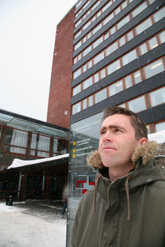 Ståle Østhus, doktorgradsstipendiat i sosiologi ved Universitetet i Oslo.