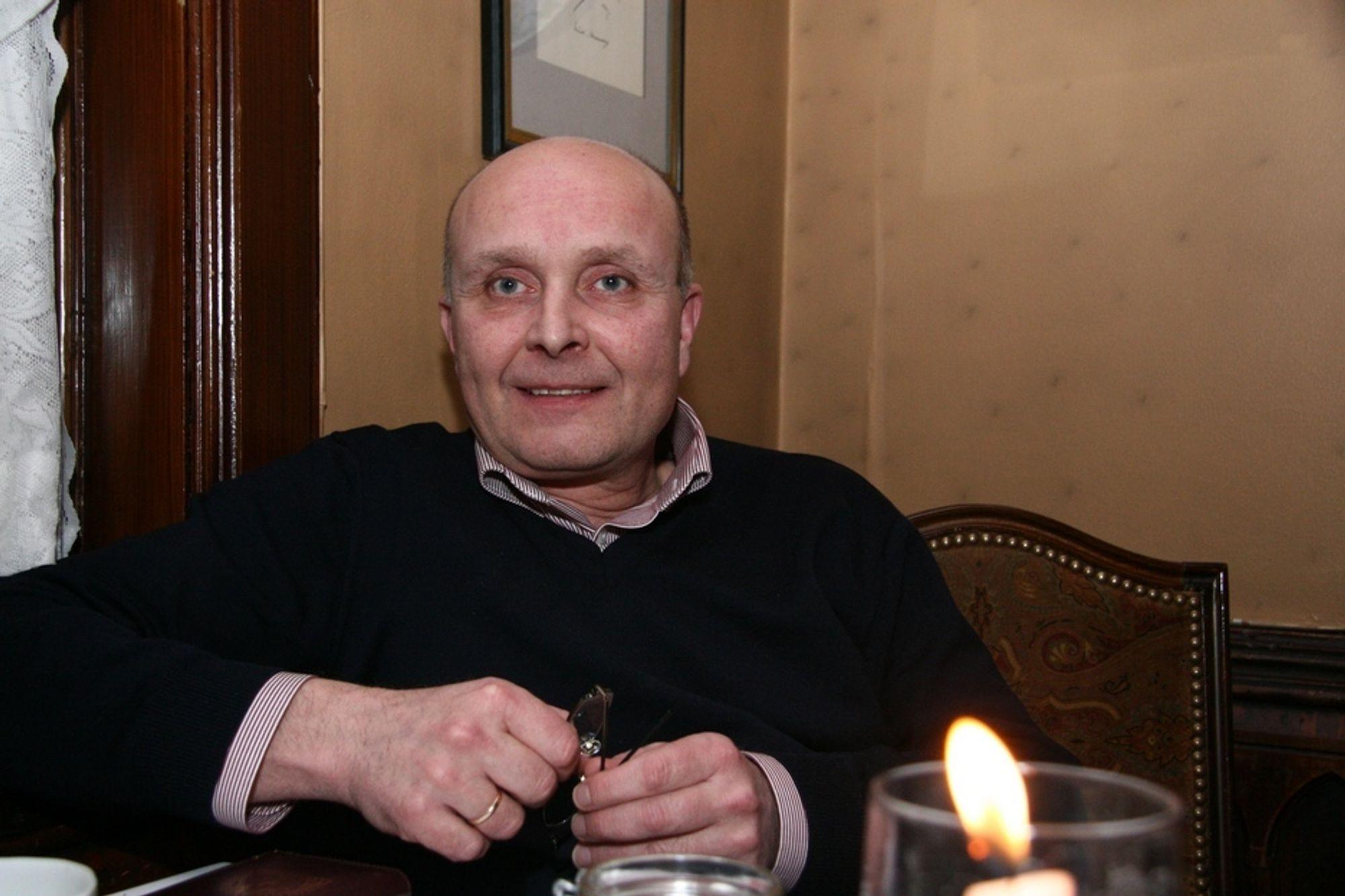 Ketil Lyng, administrerende direktør i BNL
