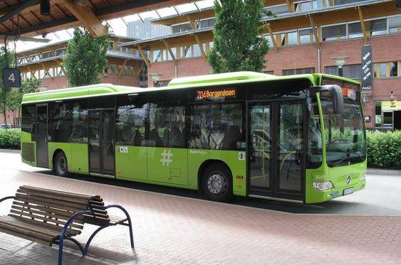 120 busser går på 100 prosent ren biodiesel for Ruter i Asker og Bærum.