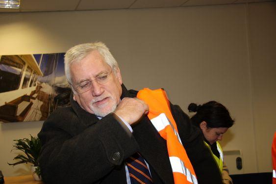 ENERGISK: Graham Tubb, ansvarlig for energibedrifter i South East Development Agency (SEEDA).