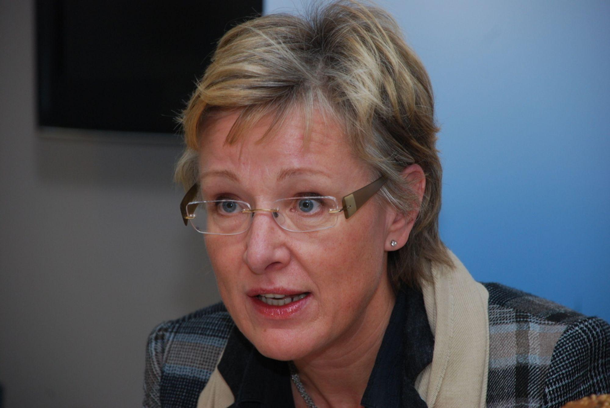 HABIL: Statssekretær Sigrid Hjørnegård (Sp) i Olje- og energidepartementet har ikke vært inhabil i behandling av partistøttesaken.