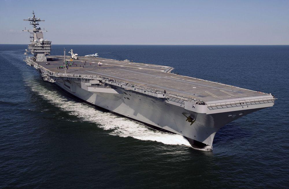 TUNGTVEIENDE: Beregning av vekt og tyngdepunkt er viktig for US Navy. Med det norske Ship Weight får  marinen kontroll fra planlegging til levering.