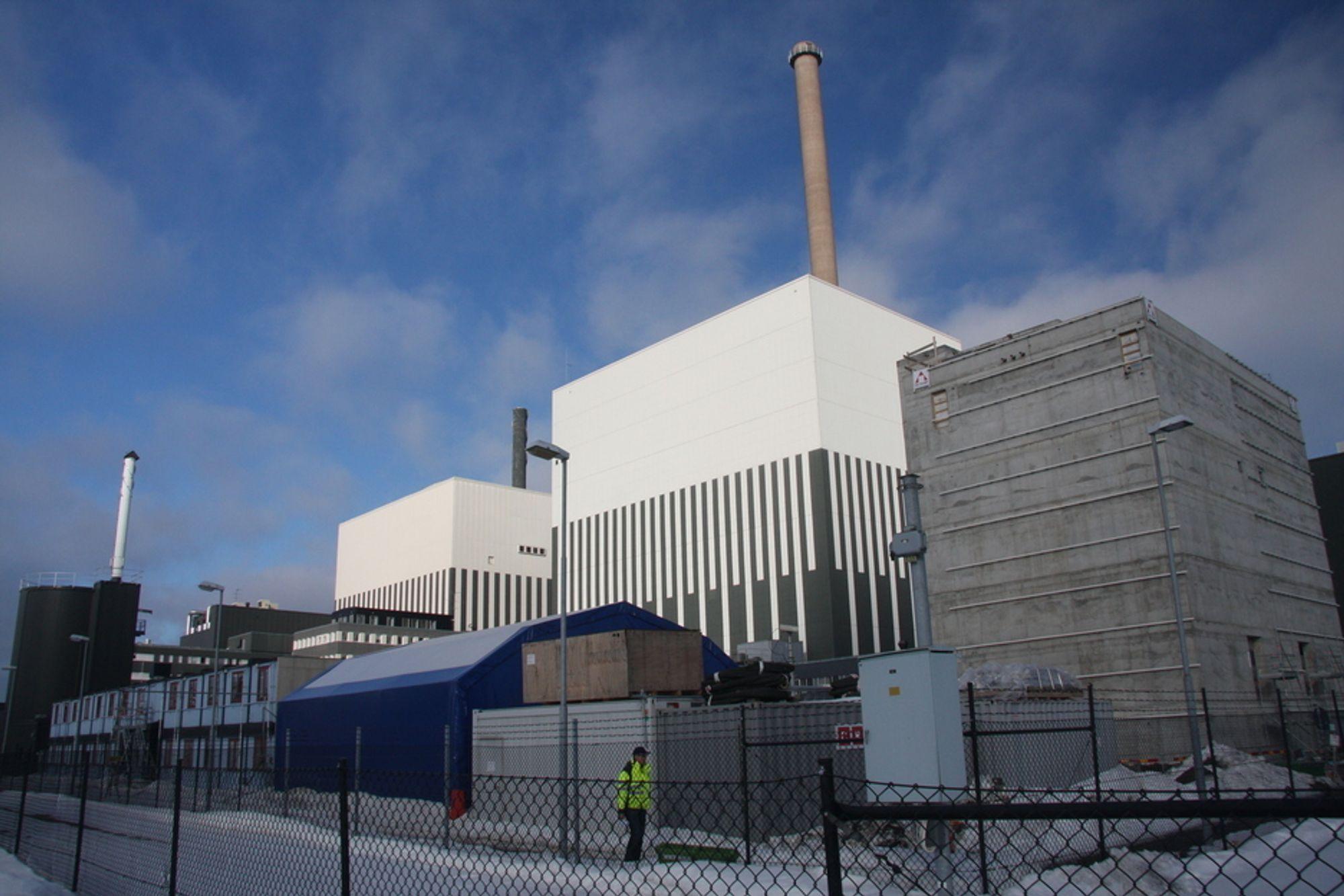 TILBAKE: Vattenfall mener at kjernkraften vil øke sin produksjon fra dagens 40 prosent til over 95 prosent i begynnelsen av desember.