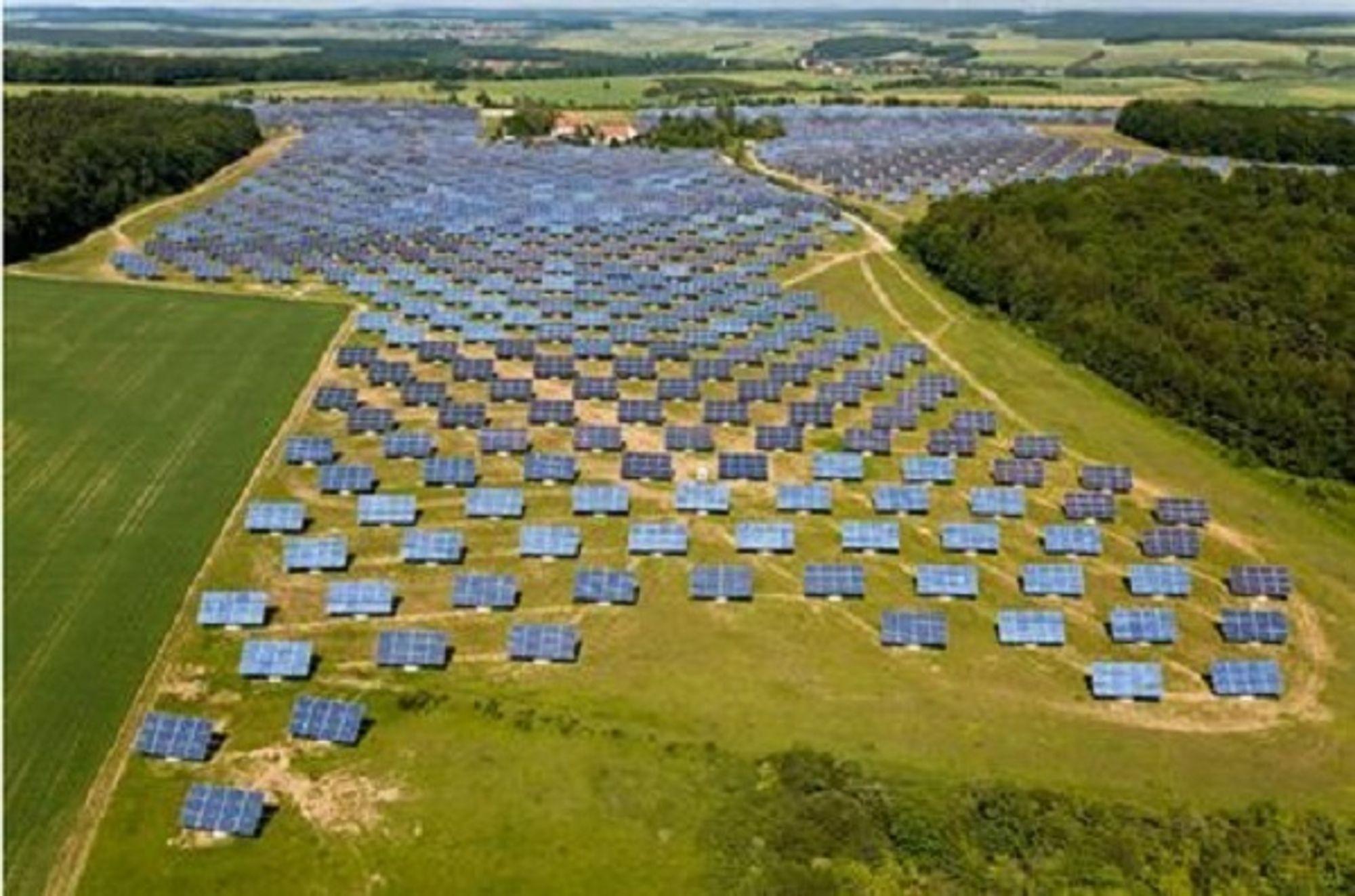 SELGER SOL: Statkraft selger solenergiprosjektet Borgo til norske Innotech Solar.