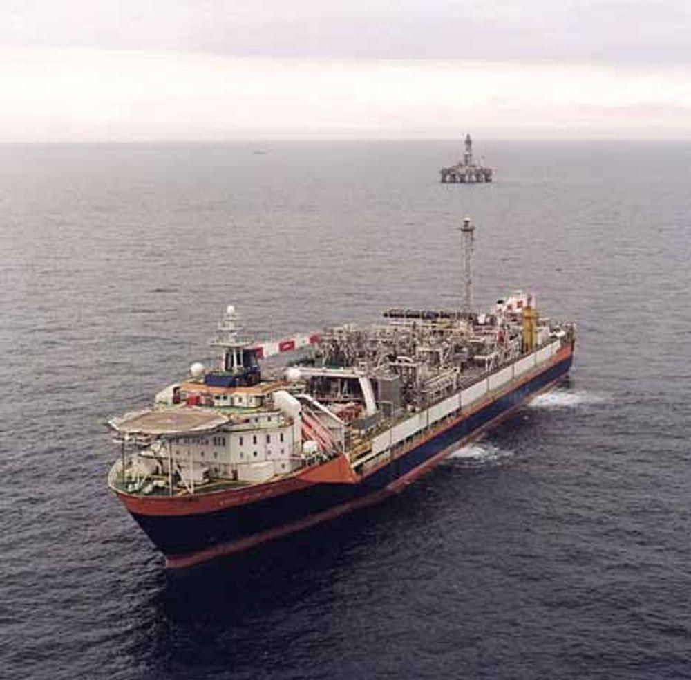 Norne produksjonsskip. Foto: Statoil