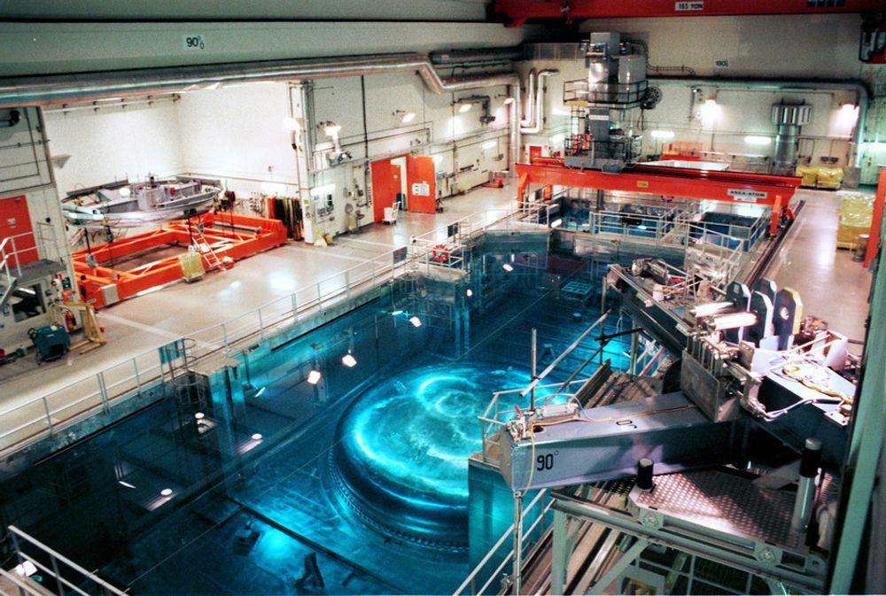 OSKARSHAMN: Dette er reaktorhallen på O3 ved Oskarshamn. Nå er reaktoren stengt ned nok en gang, og det vil ta minst 10-14 dager før den kan settes i drift igjen.
