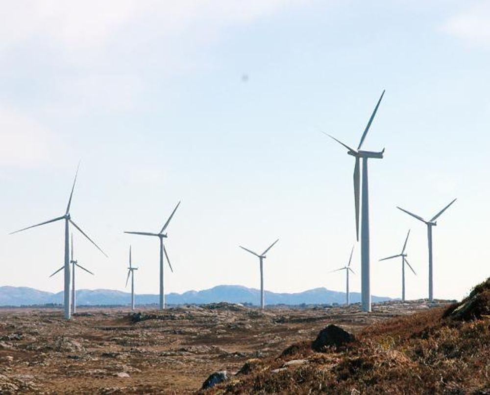 USTABILT STRØMNETT: Vindkraft kan forårsake ustabillitet i strømnettet. ABB vil kapre markedsandeler med nye lagringsløsninger for ny fornybar energi.