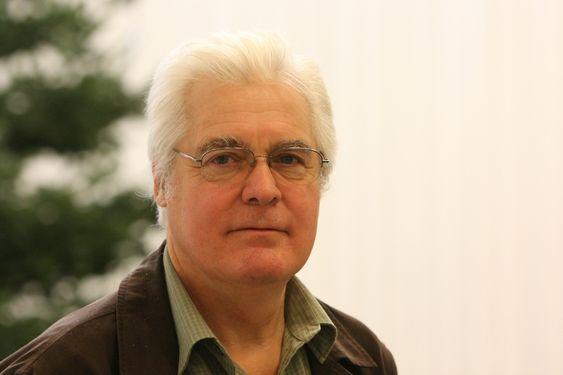 Professor John Shepherd ved National Oceanography Centre, Southampton, Storbritannia. bildet er tatt under COP15, København.