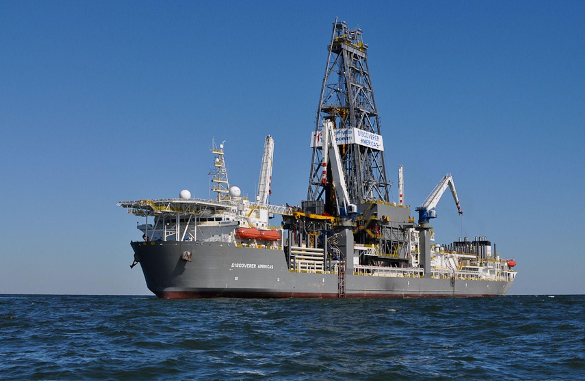 Statoil mener at boreforbudet er en situasjon som gjør at selskapet kan si opp kontrakten om leie av Transoceans rigg Discoverer Americas.