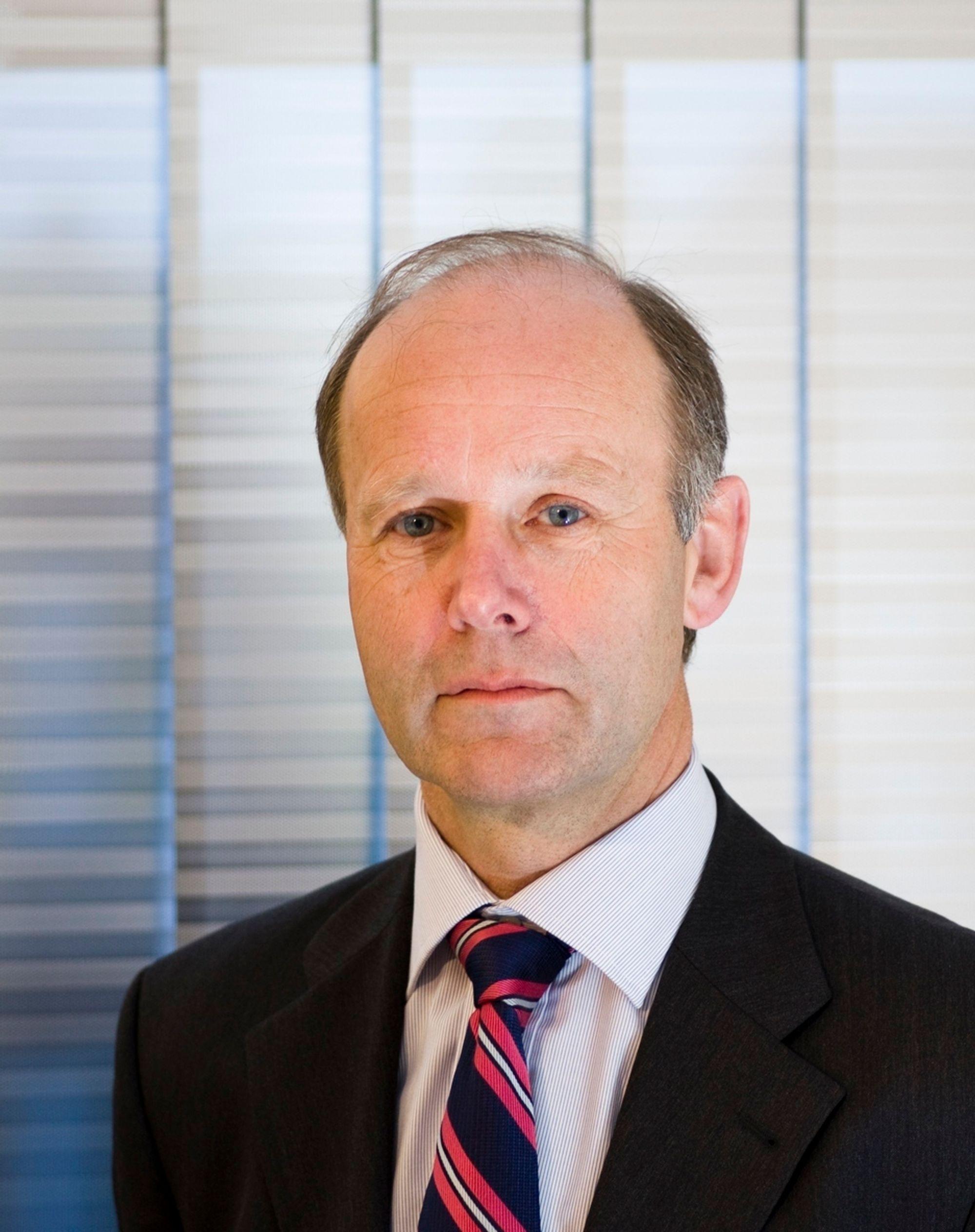 Morten Tveten, direktør for forretningsutvikling i 'Rambøll, konstituert leder fra september 2010.