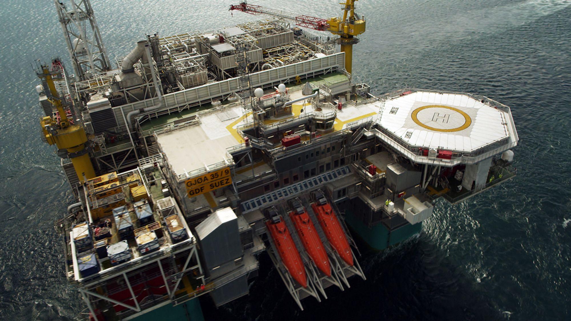 Statoil vil overfylle Gjøa