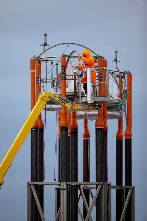 Havforsuringseksperiment utenfor Svalbard.
