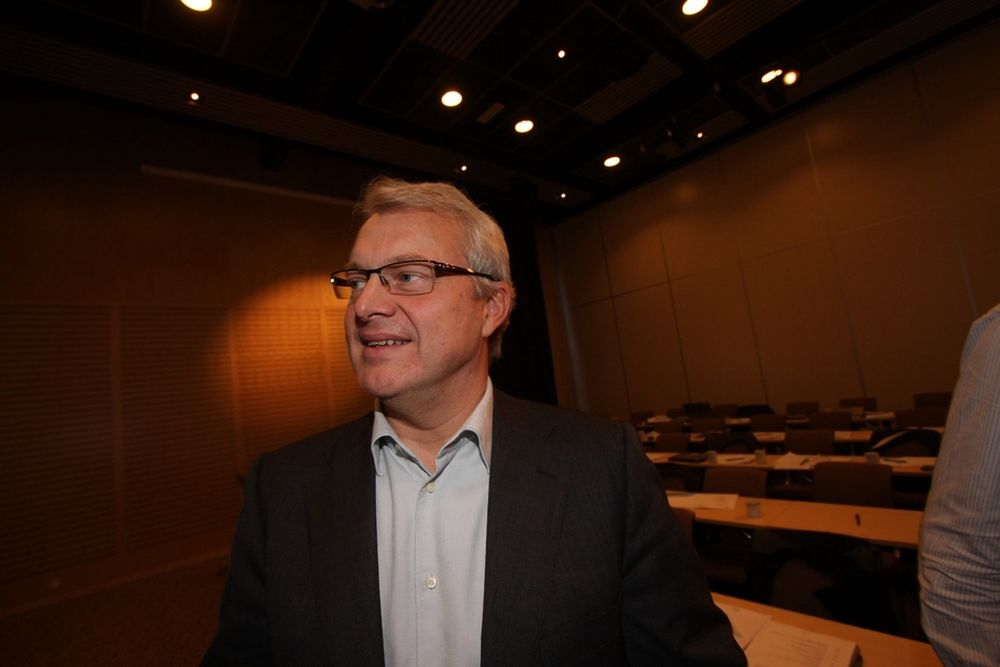 Norsk løsning: Statoils konserndirektør for norsk sokkel, Øystein Michelsen, vil ha en løsning for stanse oljeutslipp tidligere enn ved å bore avlastingsbrønner.