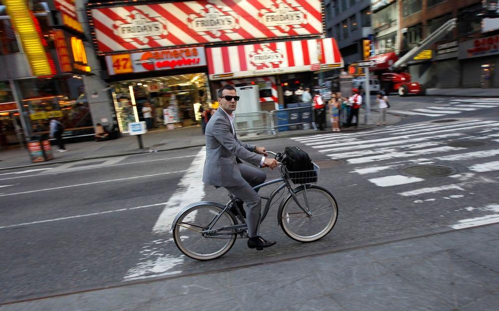 EN BIT AV OSLO? Times Square kalles «verdens veikryss» og trenger en oppgradering. Nå har Snøhetta vunnet oppdraget, med Karl Johans gate som inspirasjon.