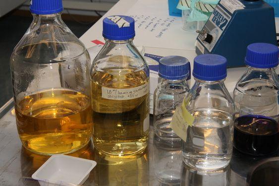 VAKSINER: Produksjonsutstyr hos Pharmaq.