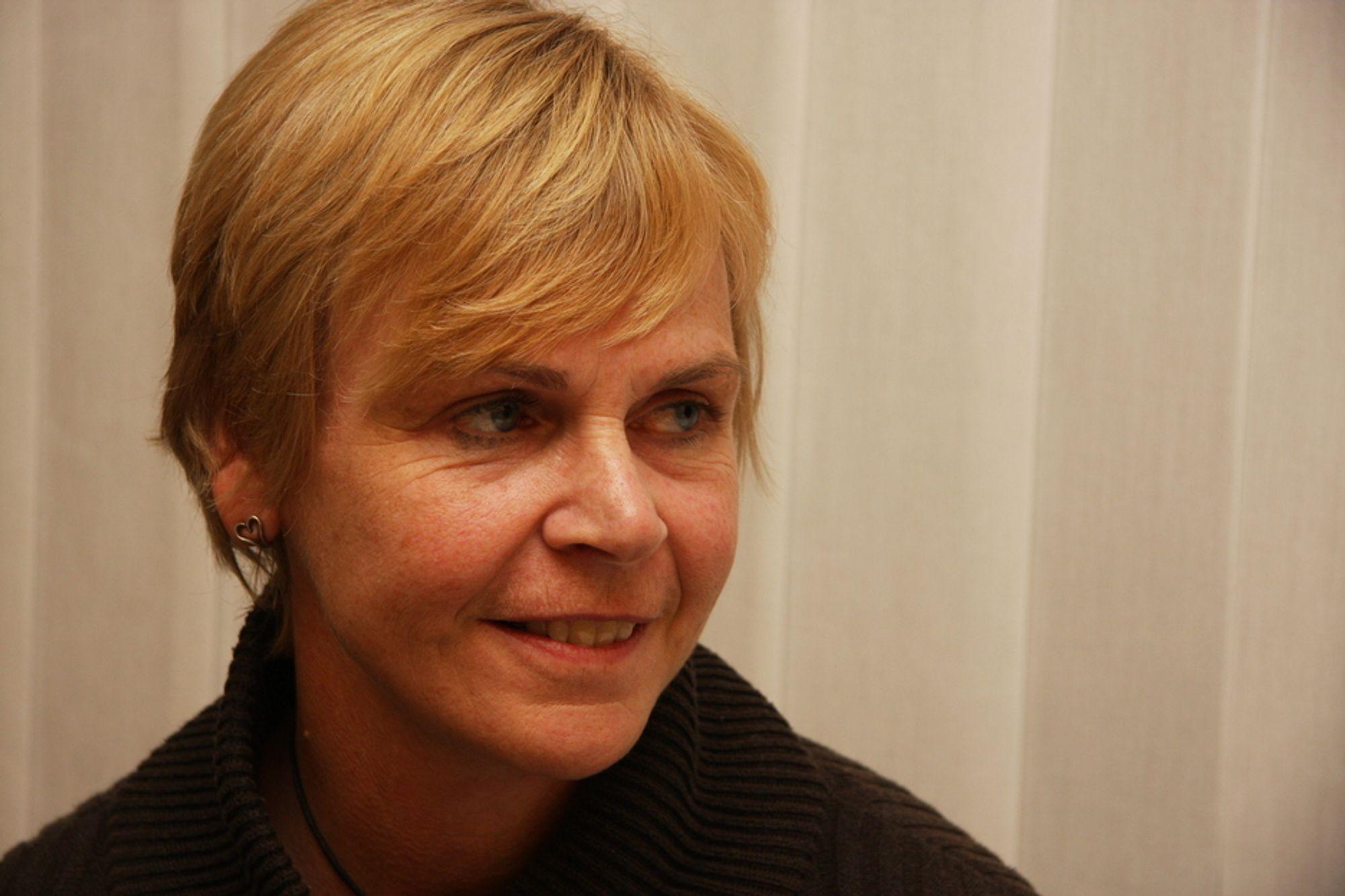 INGENIØRMANGEL: NITOs president Marit Stykket mener kommunene sliter med å fylle ingeniørstillinger med kompetent arbeidskraft.