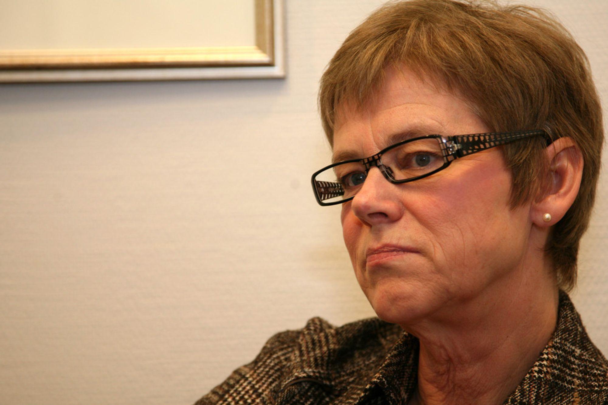 Jernbanedirektør Elisabeth Enger.