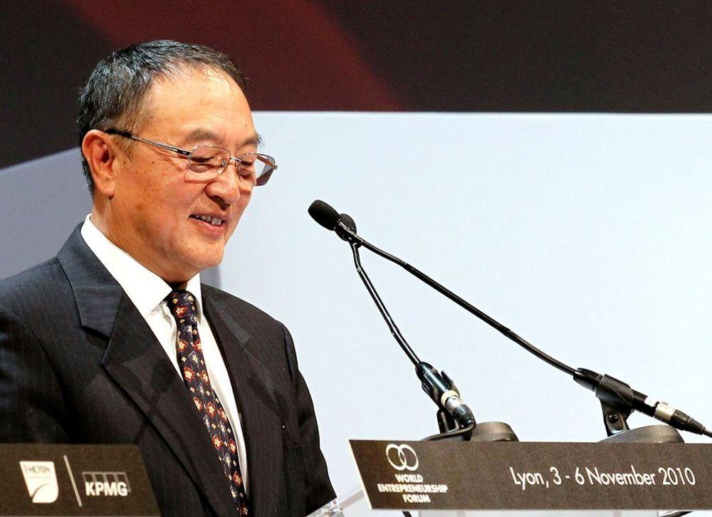 HEMMELIG: Kåringen av Lenovos styreleder Liu Chuanzhi som årets entreprenør ble gjort etter en hemmelig avstemming.