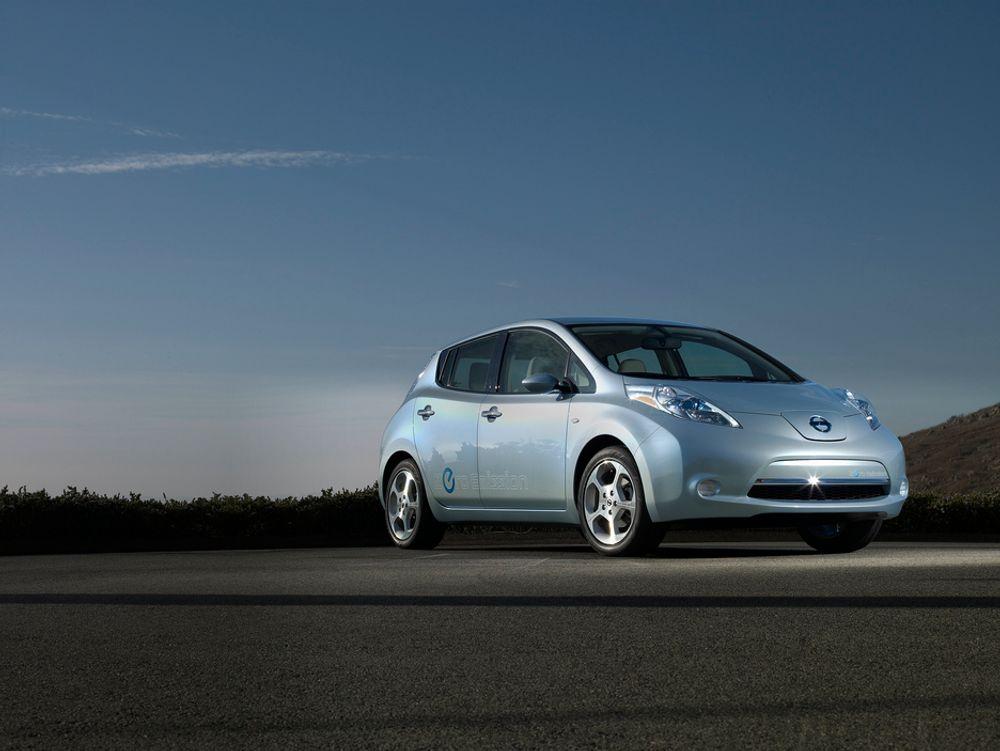 Nissan Leaf er kåret til Årets bil 2011 av europeiske biljournalister.