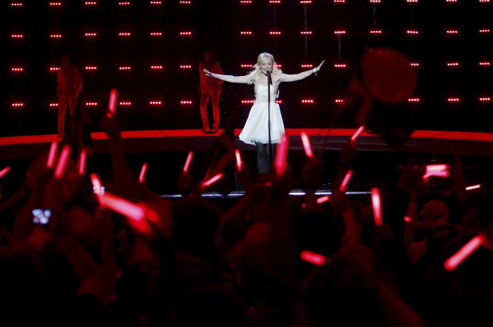Svenske Anna Bergendahl klarte ikke kvalifisere seg til finalen i Eurovision Song Contest. Men svenskene kunne i alle fall nyte sendingen både i HD og surround.