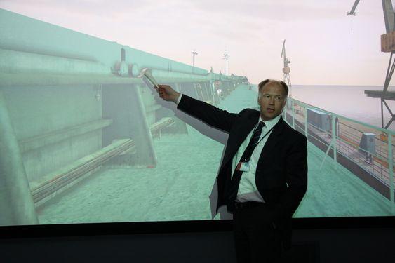 ERFAREN: Olav Nortun har vært inspektør i mange år og mener 3D-modellen gir et svært godt bilde av reelle inspeksjoner. DNV Polen DNV Academy Gdynia Olav Nortun: COO Dvision Governance and Global Development (sjef for utvikling globalt i DNV-konsernet)