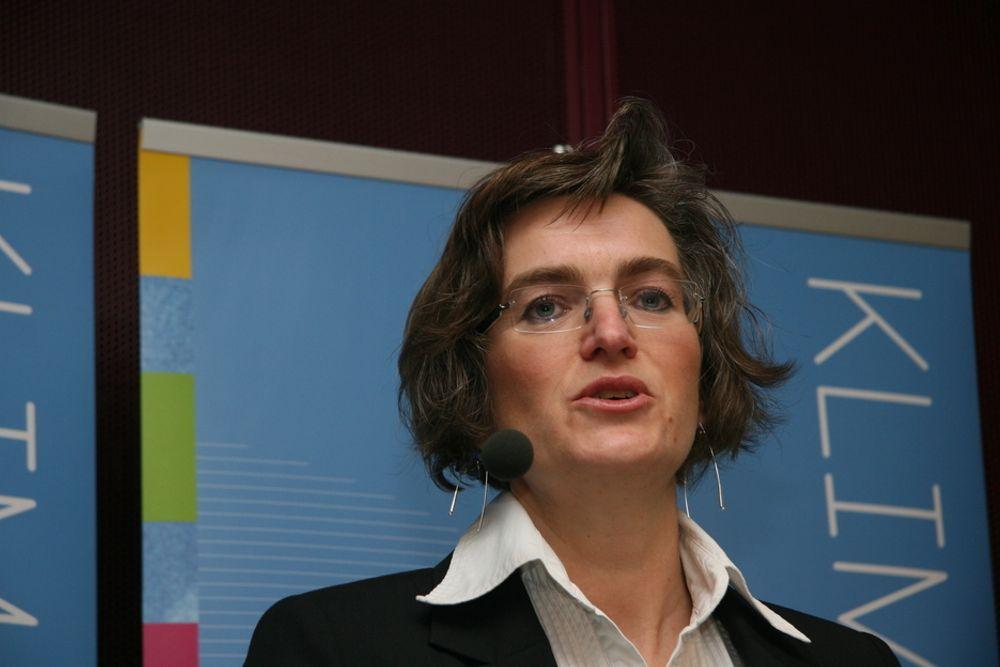 Klimadirektør Ellen Hambro synes det er synd at folk er skeptiske til klimakvoter.