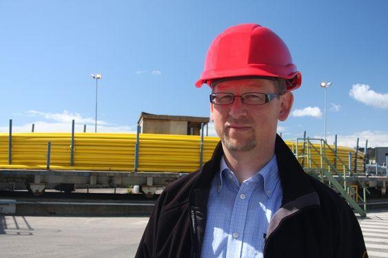 TVILER: FoU-sjef Bjørn Sanden har  liten tro på at vi vil få noe havvindpark i Norge med det første.  - Jeg tror at vi må komme på den andre siden av 2020 før vi får noe offshore vind i Norge.