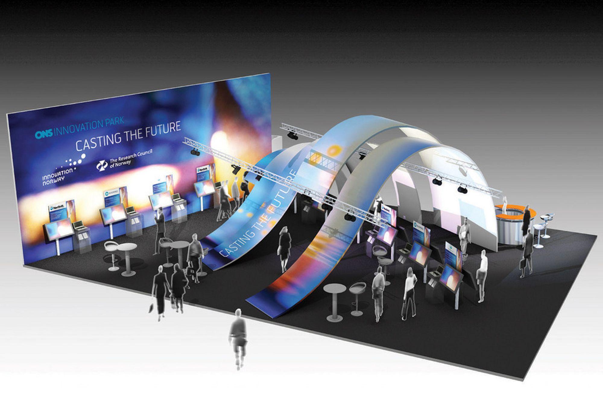 SPEKTAKULÆR: 20 innovasjonsbedrifter blir å finne i Innovasjonsparken under årets ONS.