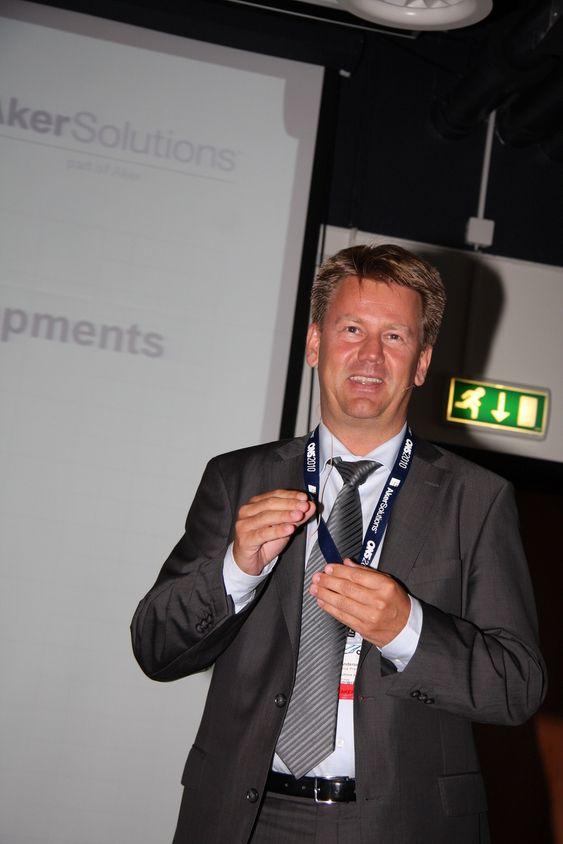 Direktør Mads Andersen ser mange interessante, tekniske utfordringer for Aker Solutions subsea.