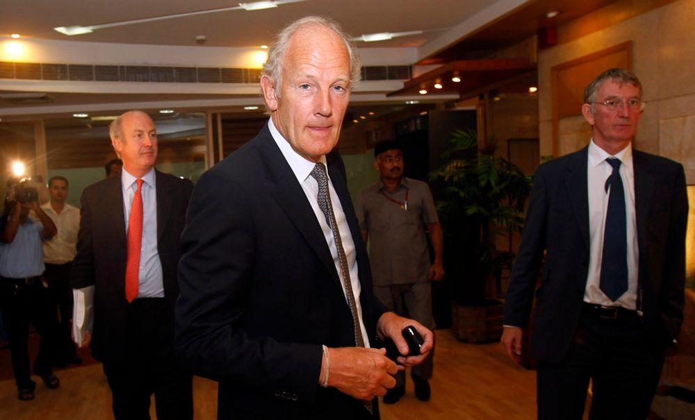 GASS: Cairns administrerende direktør Bill Gammell kunngjorde tirsdag at selskapet har indikasjoner på at det er gassforekomster utenfor Grønland.