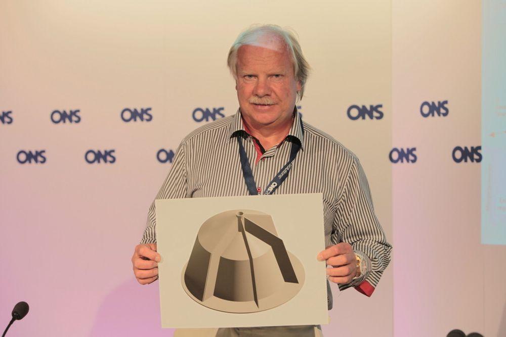 """NY PATENT: Bjørn Hansen alias """"Kina-Hansen"""" mener at han kan løse oljebransjens hovedutfordring ved å hindre alle former for lekkasje med sin oppfinnelse."""
