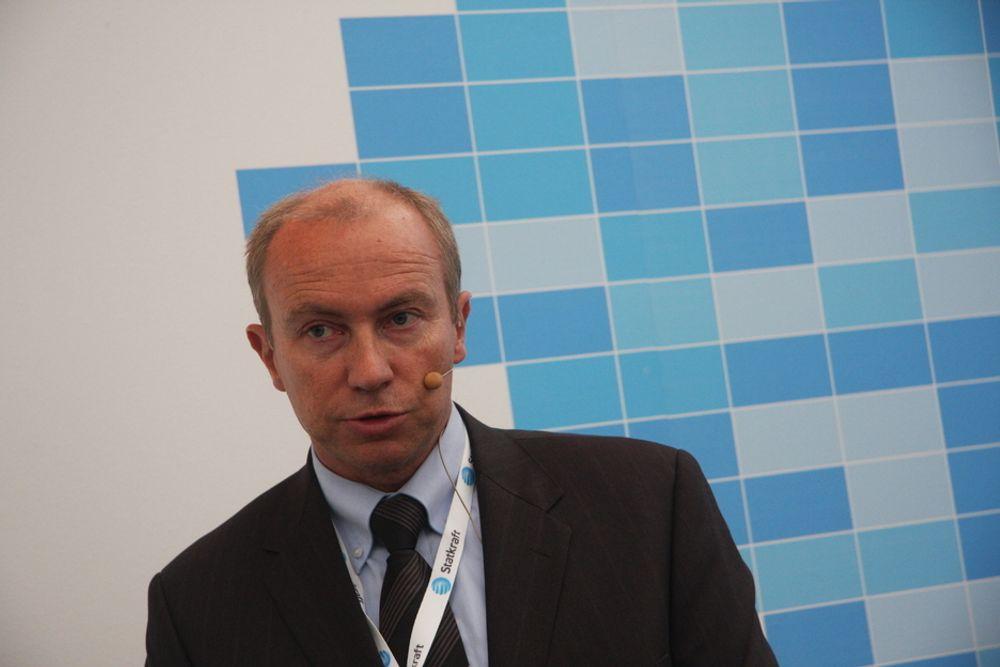 ETTERLYSER MILJØDEBATT: Konsernsjef i Statkraft, Christian Rynning-Tønnesen ønsker en debatt rundt de miljømessige konsekvensene ved bruk av pumpekraft.