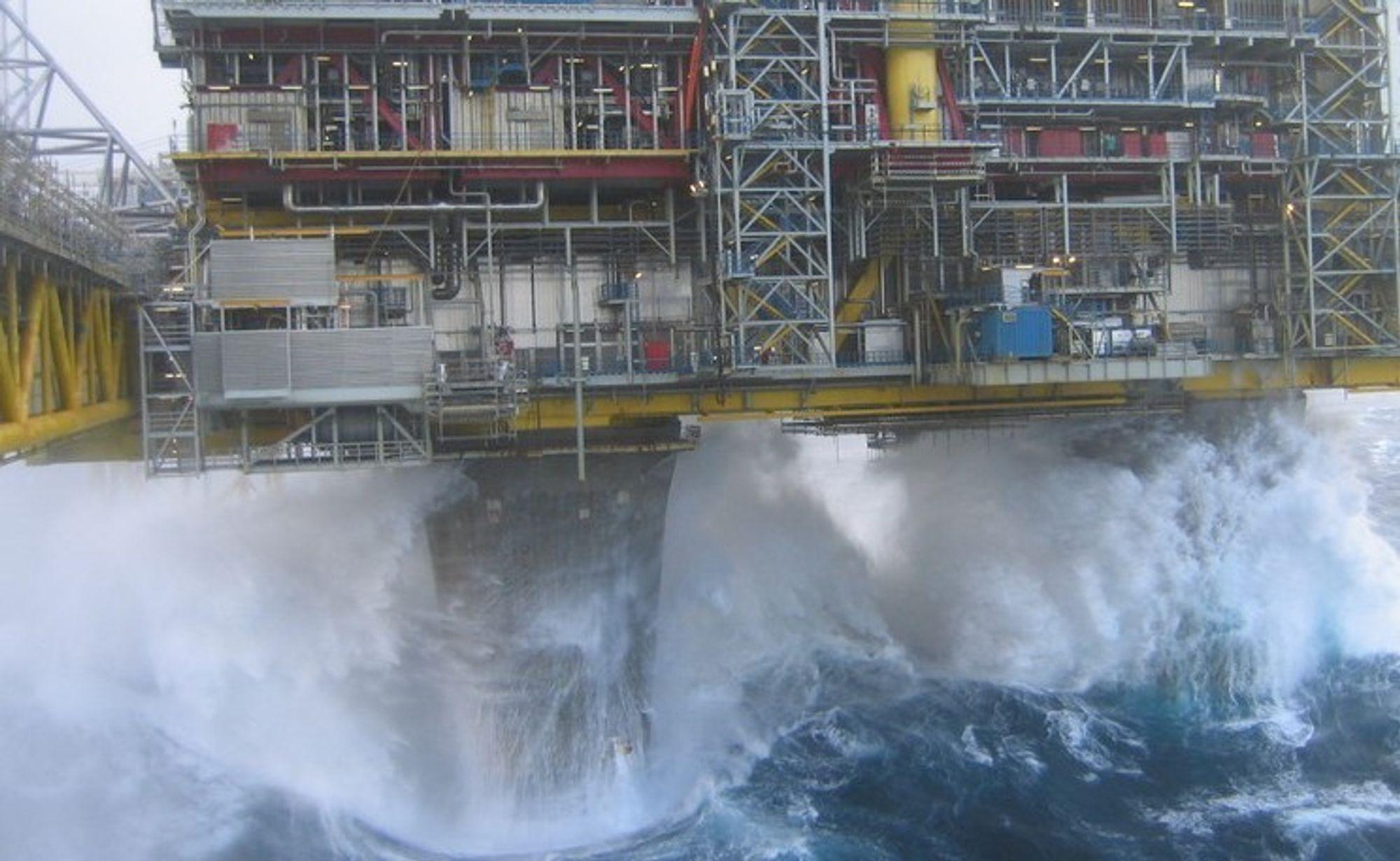 PUMPE: Bjørge Eureka skal levere offshorepumper til en foreløpig hemmelig kunde.