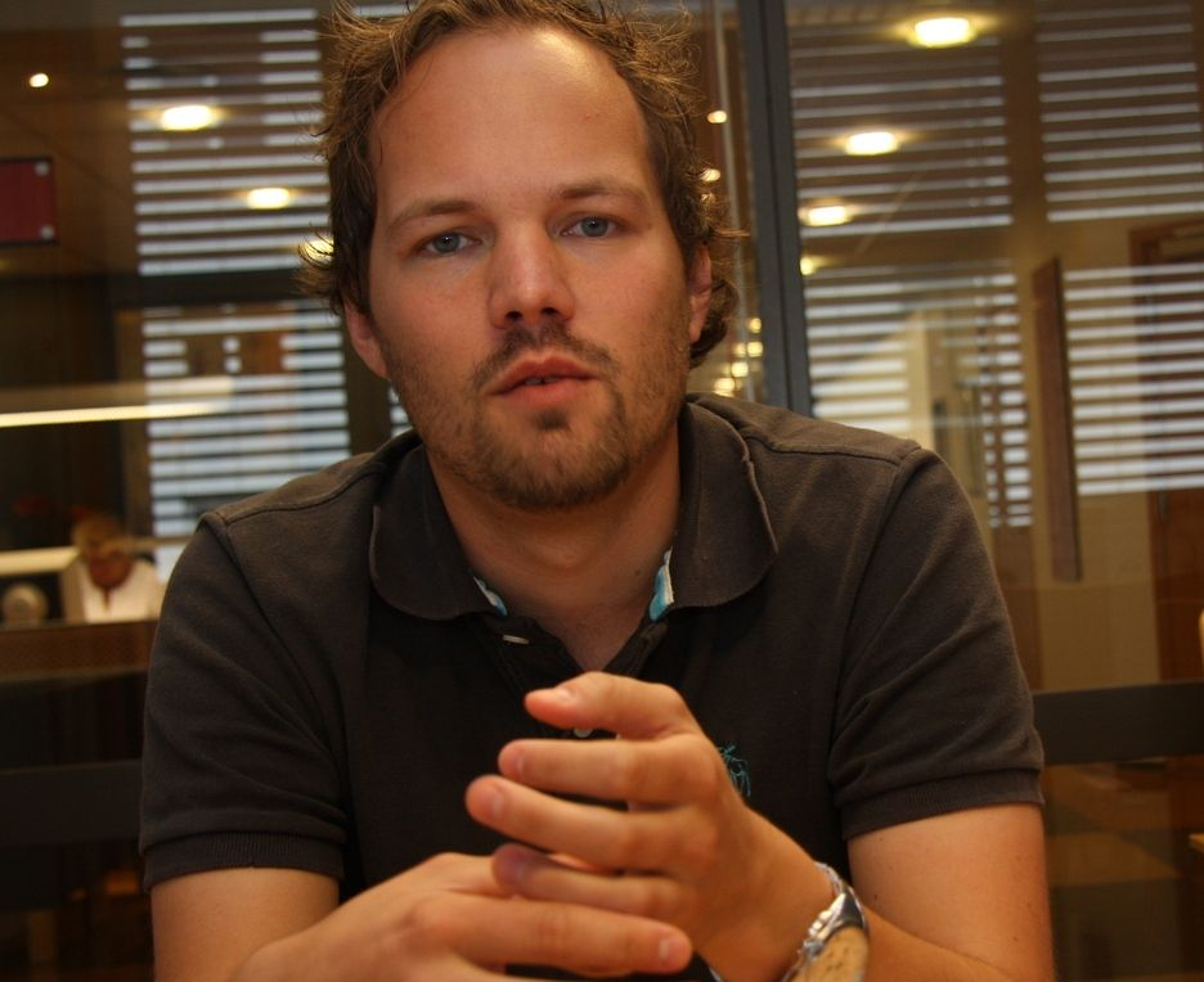 SKEPTISK: Sjefene er skeptiske til å dele smarte løsninger som er basert på åpen kildekode, sier Accentures ekspert Morten Andersen-Gott.