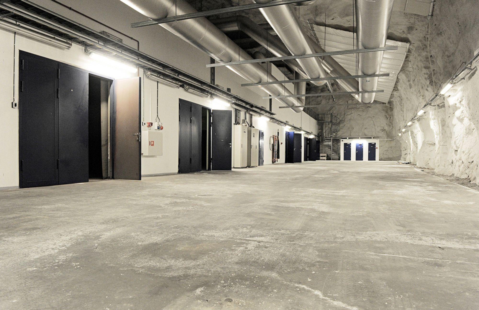 VIL TIL NORGE: Her ved Natos gamle anlegg på Rennesøy ville Cern etablere et gigantisk datasenter.